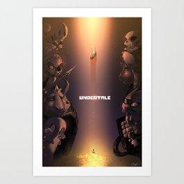 Undertale Art Print