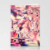trippy Stationery Cards featuring Trippy  by Pink Berry Patterns