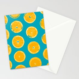 Summer Lemons Stationery Cards