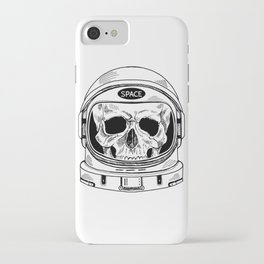 space  skull iPhone Case