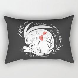 Rabbit Rectangular Pillow