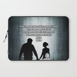 u2's there is a light Laptop Sleeve