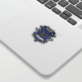 Ravenclaw Color Crest Sticker