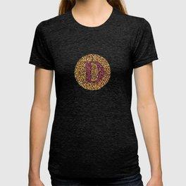 """D"" Eye Test Letter Circle T-shirt"