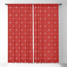 Red Star Attica Blackout Curtain
