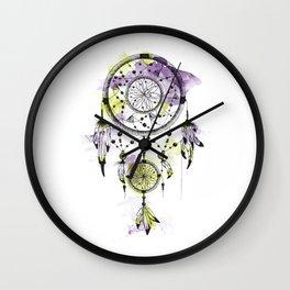 Dreamcatcher/Purple Wall Clock