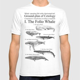 I. The Folio Whale T-shirt