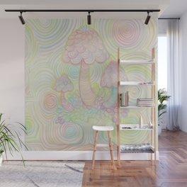 Treeshrooms Wall Mural