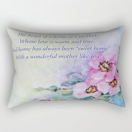 Mothers Day - Sweet Home Rectangular Pillow