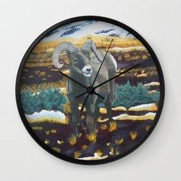Behold the Ram Wall Clock