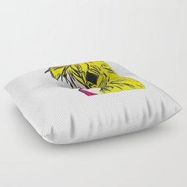 Golden Princess VII Pop art Floor Pillow