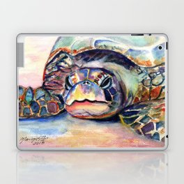 Turtle at Poipu Beach Laptop & iPad Skin