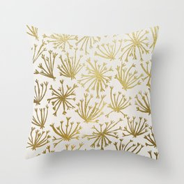 Queen Anne's Lace #2 Throw Pillow