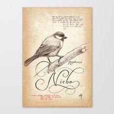 BIRD 05  Canvas Print