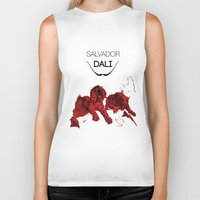 dali Biker Tanks featuring DALI by Ruben Mangorrinha