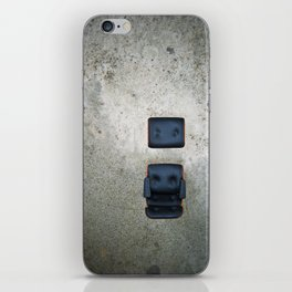 Comfy Office Chair on Concrete iPhone Skin
