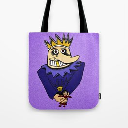 The Boognish wielding a voodoo lady doll Tote Bag
