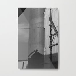 Hidden Silo Metal Print