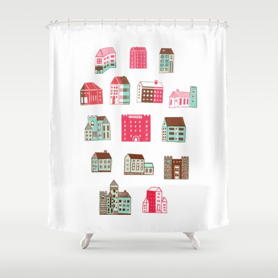 Places to rent Shower Curtain