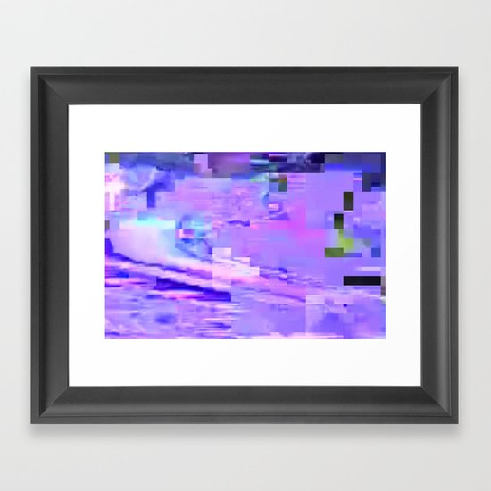 scrmbmosh296x4a Framed Art Print