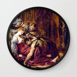 Peter Paul Rubens Samson and Delilah Wall Clock