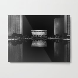 Albany's Empire State Plaza Metal Print
