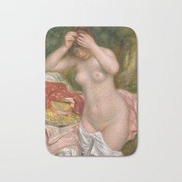 Auguste Renoir, Bather Arranging Her Hair, 1893 Bath Mat