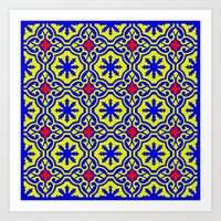 arabic Art Prints featuring Arabic  by Barbo's Art