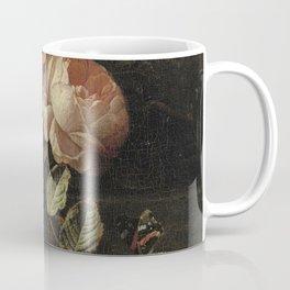 Botanical Rose And Snail Coffee Mug
