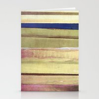 striped Stationery Cards featuring striped by Iris Lehnhardt