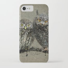 Little owl's background iPhone Case