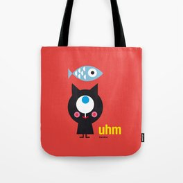 Uhm...Cat Tote Bag