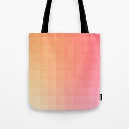 Lumen, Pink and Orange Light Tote Bag