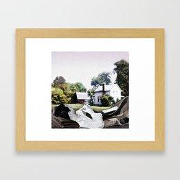 jio Framed Art Print