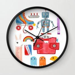 70s & 80s Wall Clock