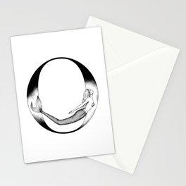 Mermaid Alphabet Series - O Stationery Cards