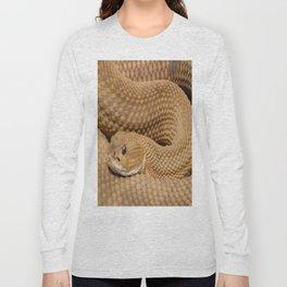 Brown Rattlesnake  Long Sleeve T-shirt