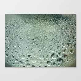 Water and rain Canvas Print