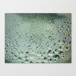 Water and rain Canvas Print