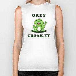 Okey Croak-ey Biker Tank