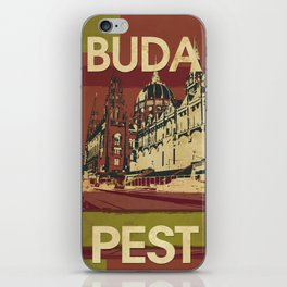 BUDA & PEST iPhone Skin