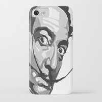 salvador dali iPhone & iPod Cases featuring Salvador Dali by Frankie Luna III