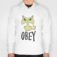 obey Hoodies featuring Obey by arlas2000