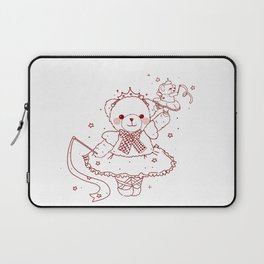 The Adventures of Bear and Baby Bear-Prima Ballerina Laptop Sleeve