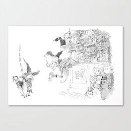 Witch Shop Canvas Print