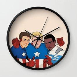 Cap Cubed Part Two Wall Clock