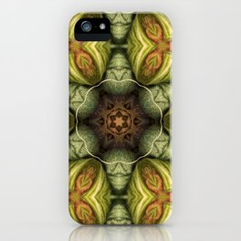 In a yarnistic world iPhone Case