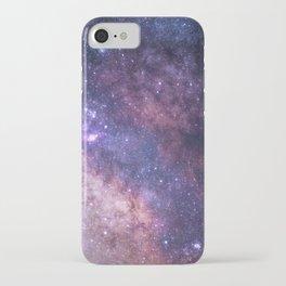 Purple Galaxy Star Travel iPhone Case