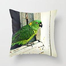 Watching You Throw Pillow