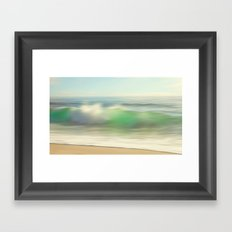 Slowly Rolling Framed Art Print